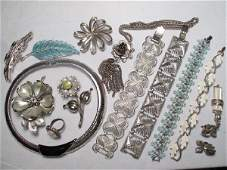 392 COSTUME JEWELRY CORO VANDOME GIOVANNI ETC
