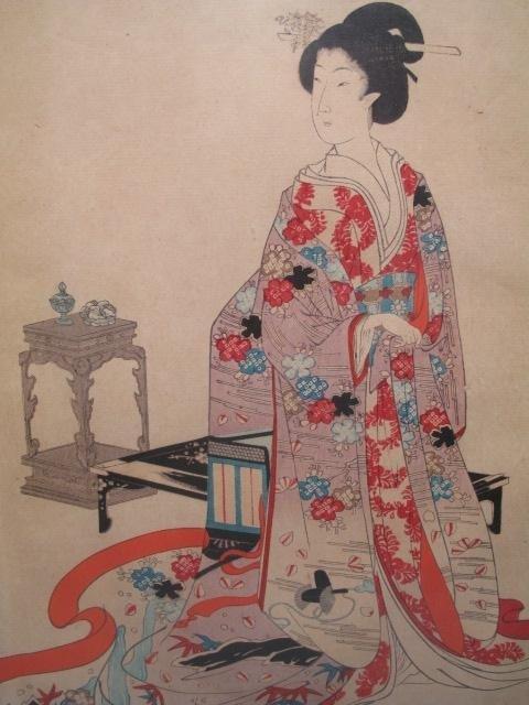 50: JAPANESE WOODBLOCK PRINT TRIPTYCH - 4