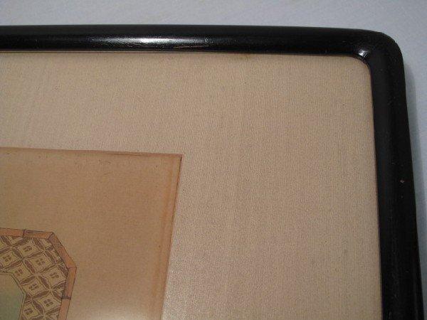 50: JAPANESE WOODBLOCK PRINT TRIPTYCH - 8