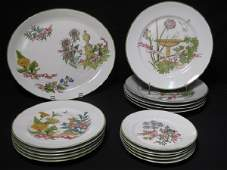 268 ROYAL WORCESTER FINE CHINA DINNERWARE 16 PCS