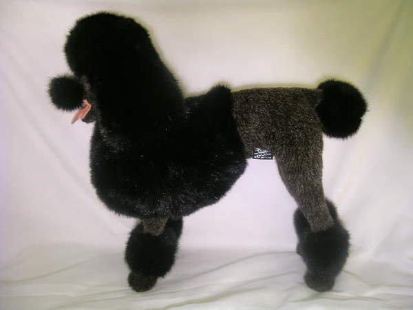2: VINTAGE ITALIAN STUFFED POODLE DOG TOY LARGE