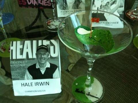 10: NIFF CELEBRITY MARTINI GLASS: HALE IRWIN