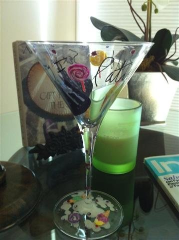 23: NIFF CELEBRITY MARTINI GLASS: PATRICIA FIELD