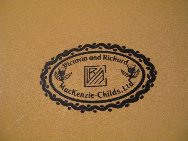 10: MACKENZIE CHILDS PLATES / BOWLS: VICTORIA & RICHARD - 9