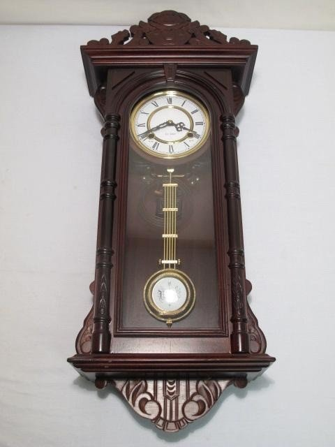 12: 20TH C VIENNA REGULATOR STYLE WALL CLOCK