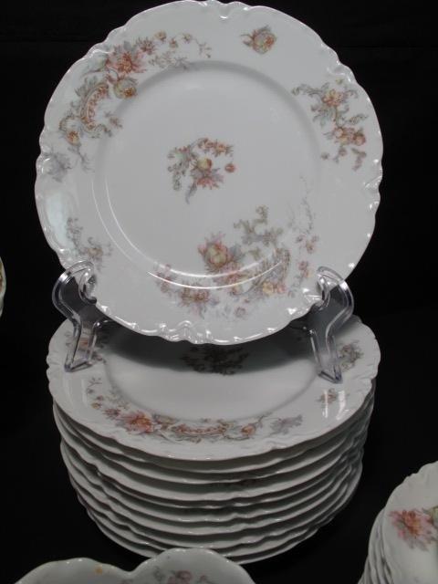 262: HAVILAND LIMOGES FINE CHINA DINNERWARE SET 93 PCS - 4