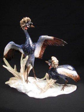 GERMAN ROSENTHAL PORCELAIN BIRD FIGURAL
