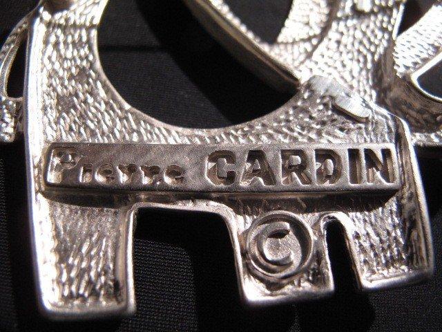 97: COSTUME JEWELRY: SILVER TONE MONET  PIERRE CARDIN A - 8