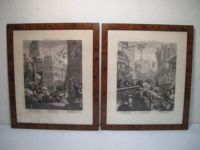 122: WILLIAM HOGARTH: GIN LANE AND BEER STREET