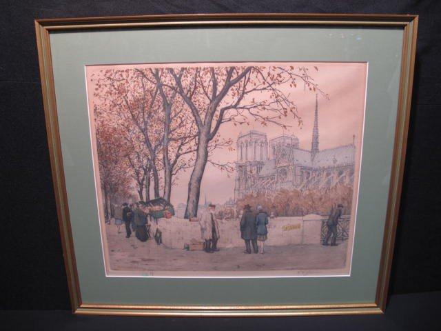 128: TAVIK FRANTISEK SIMON: THE BOOKSTALLS OF PARIS