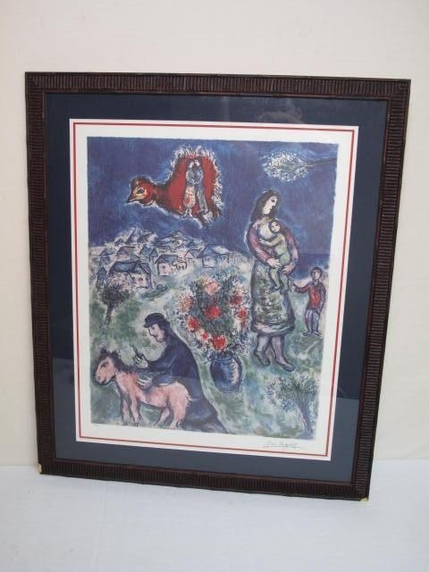 131: LITHOGRAPH AFTER MARC CHAGALL