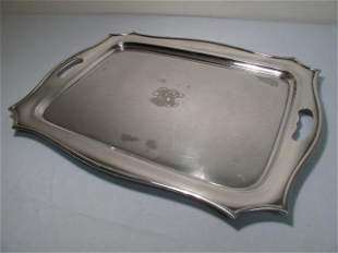 MONUMENTAL GORHAM SILVER PLATED TRAY