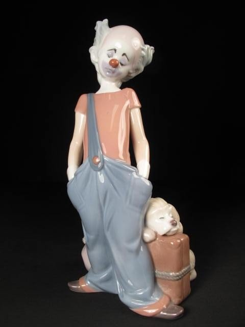 24: LLADRO EVENT PORCELAIN FIGURINE 1996 CLOWN