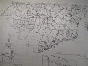 FLORIDA COUNTIES 1953 PLATT MAPS