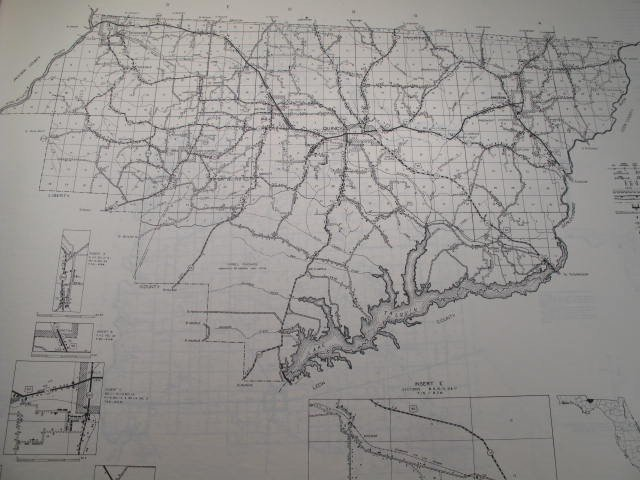 2: FLORIDA COUNTIES 1953 PLATT MAPS