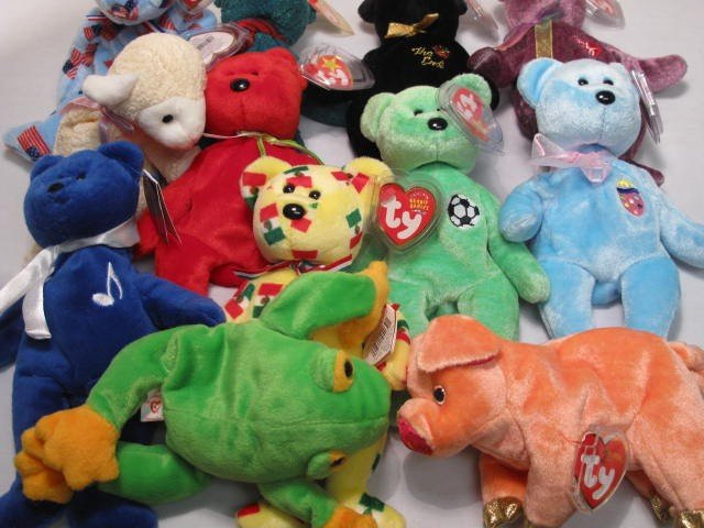 6: ENORMOUS LOT OF BEANIE BABIES 320+ - 10