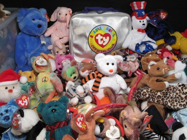 6: ENORMOUS LOT OF BEANIE BABIES 320+ - 2