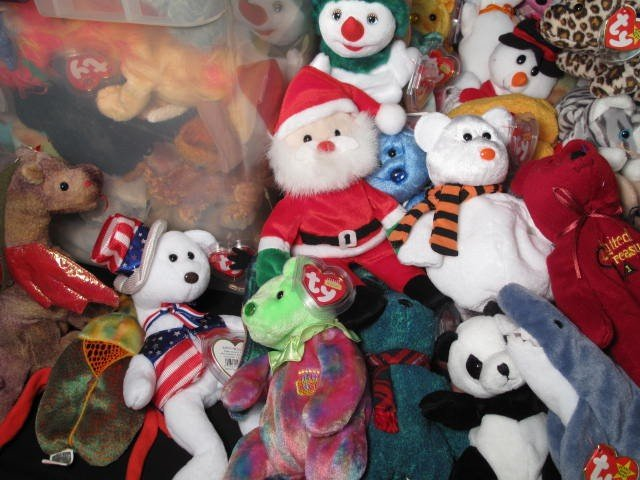 6: ENORMOUS LOT OF BEANIE BABIES 320+ - 5