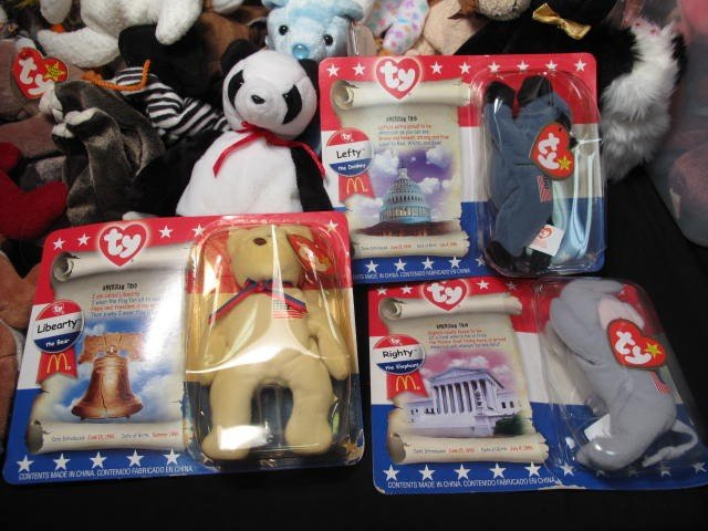 6: ENORMOUS LOT OF BEANIE BABIES 320+ - 7