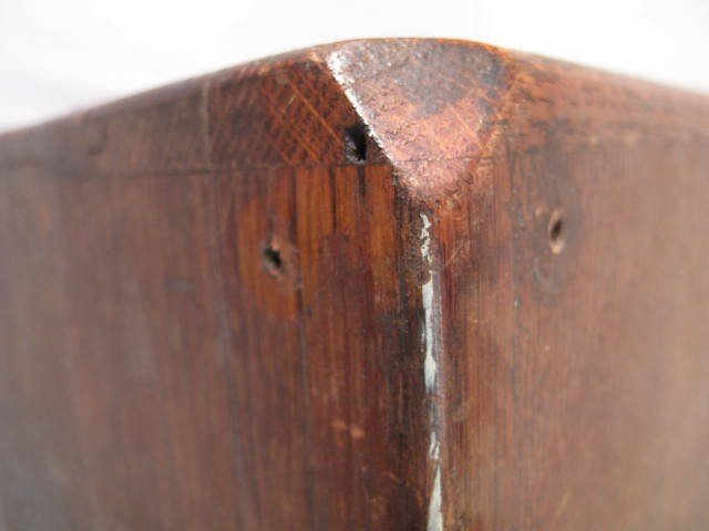 109: ANTIQUE WOODEN MACHINISTS TOOLBOX - 10