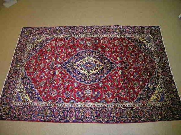 247: LG PERSIAN AREA CARPET MULTI COLOR APPROX  9 X 5