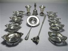 114 GROUP ASSORTED STERLING SILVER 1048 TROY OZ