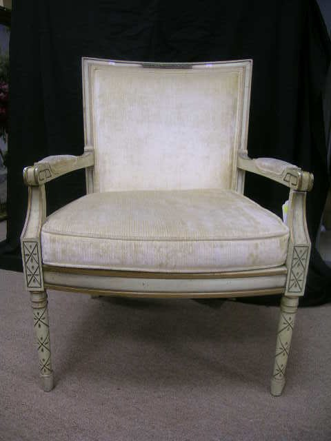 563: STATESVILLE CHAIR CO UPHOLSTERED ARM CHAIR