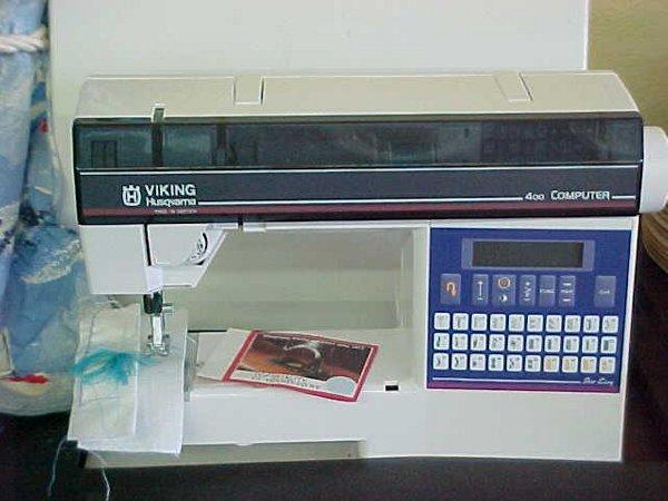 301: VIKING HUSQVARNA 400 SEWING MACHINE - 2