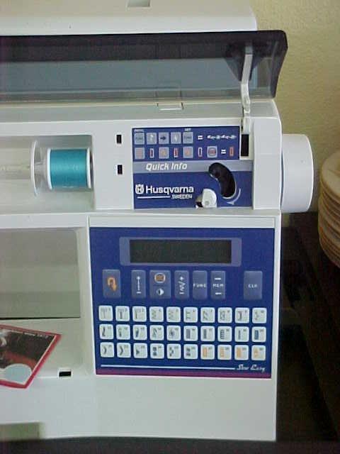 301: VIKING HUSQVARNA 400 SEWING MACHINE - 5