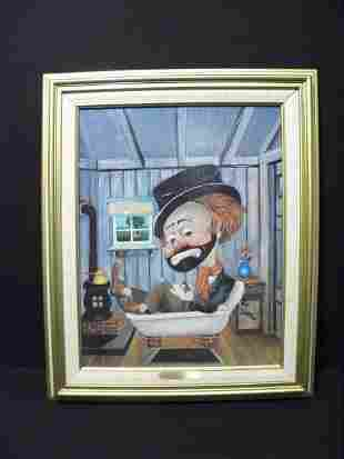 """RED SKELTON LIMITED EDITION: """"FREDDIE IN THE TUB"""""""