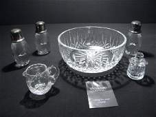 14 ASSORTED CUT CRYSTAL WATERFORD STUART STERLING ETC
