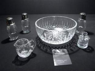 ASSORTED CUT CRYSTAL: WATERFORD STUART STERLING ETC