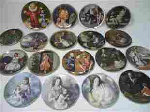 ASSORTED PORCELAIN COLLECTIBLE PLATES: NORMAN ROCKW