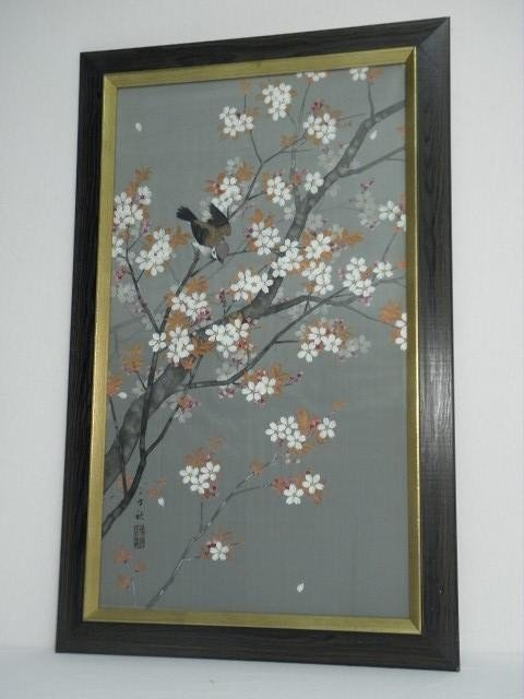 19: CHINESE PAINTING ON SILK