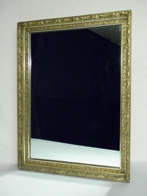 20: GOLD GILT WALL MIRROR
