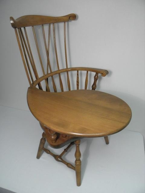 188 S Bent Amp Bros Inc Maple Windsor Style Chair Lot 188