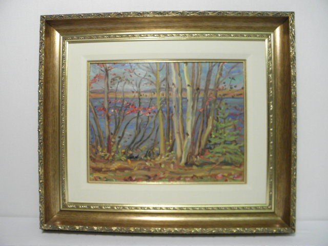 353: A.Y. JACKSON (CANADIAN, 1882-1974) OIL ON BOARD PA