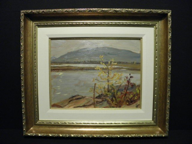 369: A.Y. JACKSON (CANADIAN, 1882-1974) OIL ON BOARD PA