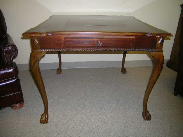 1289: ALEXANDER JULIAN HOME COLOURS WOOD GAME TABLE