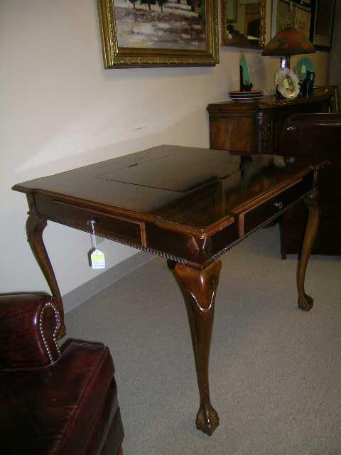1289: ALEXANDER JULIAN HOME COLOURS WOOD GAME TABLE - 2