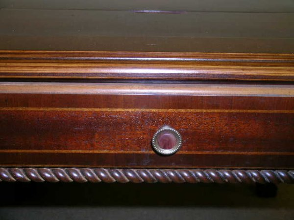 1289: ALEXANDER JULIAN HOME COLOURS WOOD GAME TABLE - 5
