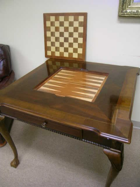 1289: ALEXANDER JULIAN HOME COLOURS WOOD GAME TABLE - 6