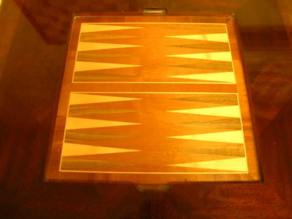 1289: ALEXANDER JULIAN HOME COLOURS WOOD GAME TABLE - 7
