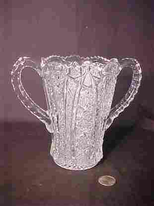 DEPRESSION GLASS LOVING CUP