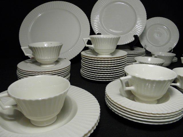 "105: LENOX ""TEMPLE OFF-WHITE"" PARTIAL DINNERWARE SERVIC - 2"