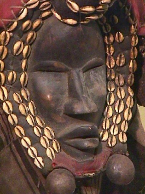 50: DAN IVORY COAST LARGE AFRICAN HEADDRESS - 2
