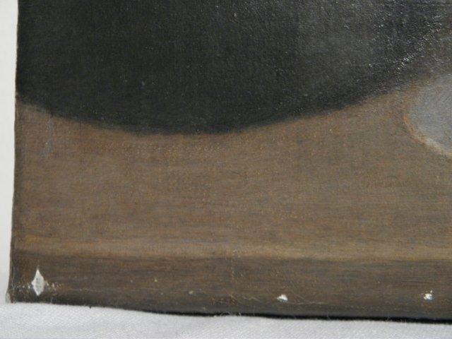 E.J. VAN STRATEN OIL ON CANVAS PAINTING: RECLINING NUDE - 6