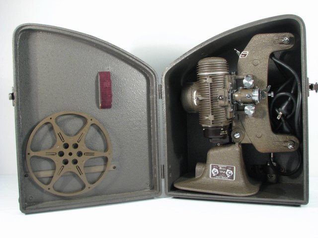 "CASED BELL & HOWELL ""REGENT"" 8MM PROJECTOR"