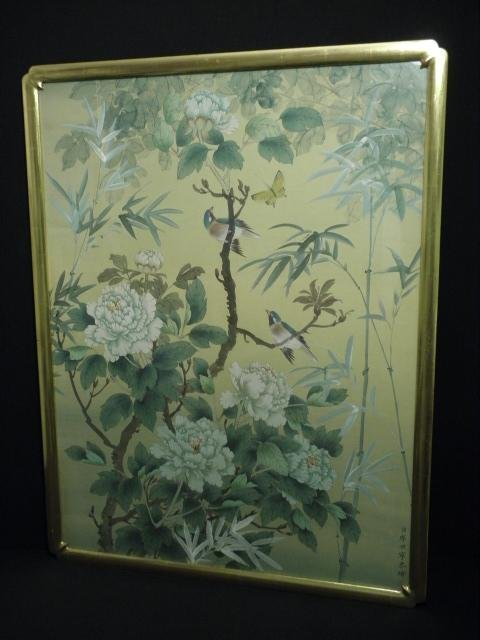 f2257669a TAI LING CHINESE PAINTING ON SILK: BIRDS & WHITE PEONIE - May 22 ...