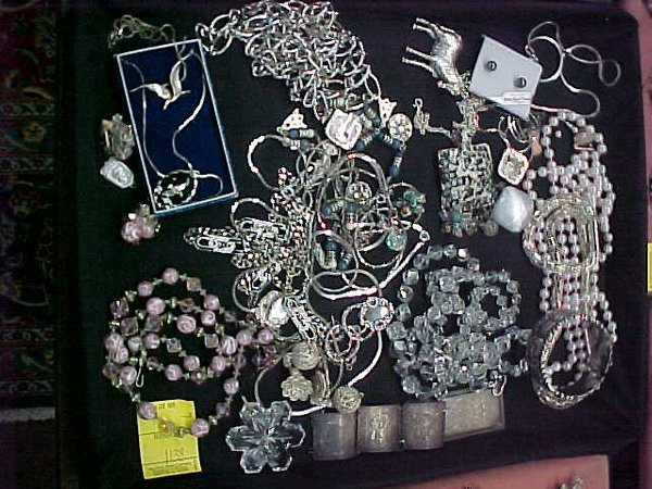 14: COSTUME JEWELRY VENDOME STERLING CRYSTAL